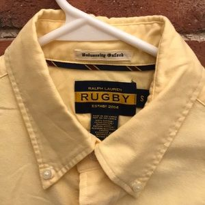 Ralph Lauren Rugby University Oxford Shirt Size S